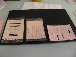 hallmark wedding invitations lace wedding invitations