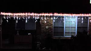 960 led snowing icicles lights white