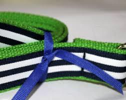 navy and white striped ribbon navy striped belt etsy