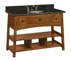 Mission Style Bathroom Vanities by Amish 49