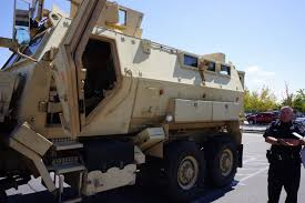 mrap boise police department gives mrap swat show and tell citydesk