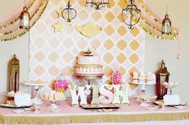 pink and gold party supplies vote march party finalists 2014 project nursery