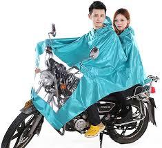 bicycle raincoat hoteon sky blue solid motor bike raincoat raincoat attractive