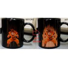 magic mugs cups dragon ball changing colours colors one piece