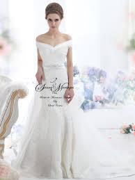 robe de mariage simple robe de mariée sirène manches courte en dentelle mariage