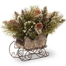 santa s sleigh centerpieces decor and