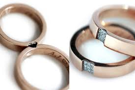 Promise Engagement And Wedding Ring Set by Promise Ring Set In 14k Rose Gold Wedding Band Sets Love