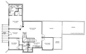 craftsman floor plan craftsman style house plan 3 beds 3 5 baths 2718 sq ft plan 437