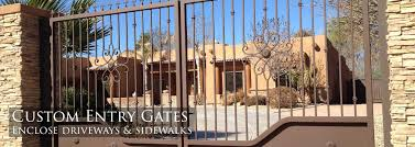 sunset gates wrought iron gates u0026 fencing phoenix arizona