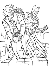 batman coloring book villains batman color cartoon