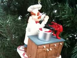 swedish chef muppets ornament