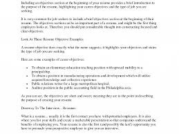 An Objective On A Resume Projects Idea What To Put In Objective On Resume 4 What To Put As