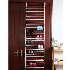 Shoe Rack For Closet Door The Door 36 Pair Wall Hanging Shoe Rack Organizer Holder
