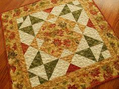 quilted square table toppers fall pumpkins quilted centerpiece table topper runner kitchen decor