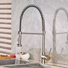 brushed nickel kitchen faucets brushed nickel home faucets ebay