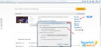 cara download mp3 dari youtube di pc cara mendownload video youtube di komputer tanpa software
