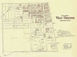 Pennsylvania City Map by Chester County Resources