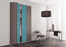 placard chambre adulte kazed portes de placard pliantes mélaminés châtaigne et