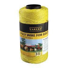 500 ft 3 strand polywire u003c electric fence wire zareba