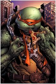 draw comics teenage mutant ninja turtles michelangelo