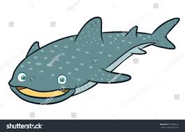 whale shark cartoon stock vector 547489612 shutterstock