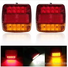 led tail lights for a trailer 12v waterproof trailer truck 20 led tail light rear ls turn