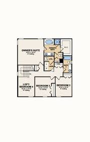 Model Home Floor Plans Second Floor Lantana Home Lennar At Palencia Floor Plans By