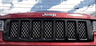 jeep grand cherokee wk black altitude edition grill mopar