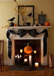 Ideas Halloween Decorations 40 Spooktacular Halloween Mantel Decorating Ideas Spooky