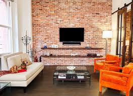 Orange Armchair Beautiful Orange Armchairs Home Renovations With White Ceiling