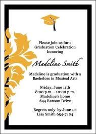 graduation ceremony invitation marialonghi