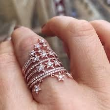 rings star images Triple star ring dadlani jewels jpg