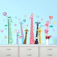 Giraffe Wall Decals For Nursery Giraffe Print Wall Decal Nursery Wall Decals Tree Wall Stencil