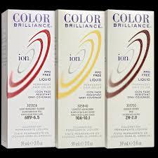 ion color brilliance permanent liquid hair color 3r dark red
