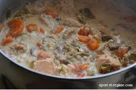 plats faciles cuisiner recette facile et légère blanquette de la mer