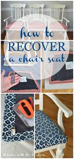 change upholstery on chair how to recover kitchen chairs room decor change and tutorials