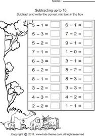 vertical subtraction facts to 18 64 questions a math
