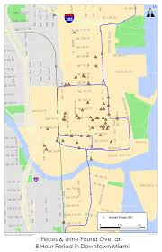 Seattle Map Downtown by Miami U0027poop Map U0027 Uses Emojis To Make Case For Homeless Who Need