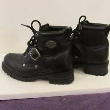s harley boots size 11 harley davidson leather boots size 11 m 91015 torque steel toe ebay