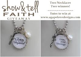 faith jewelry agape designs show and tell faith jewelry giveaway