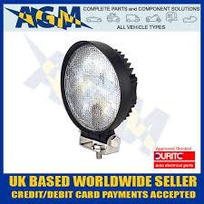 420 lumen led work light durite 0 420 45 round led work light 12 24v
