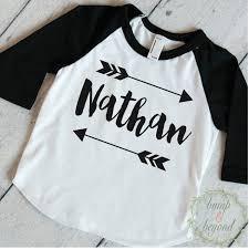 customized baby custom baseball shirt baby on point