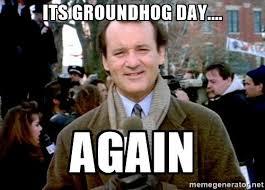 Groundhog Meme - goal groundhog day rick manelius