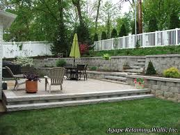 Retaining Wall Patio Design Image Result For How To Drain Water From Patio With Retaining Wall