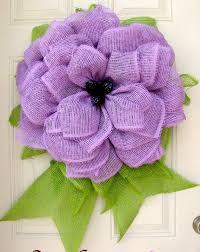 deco paper mesh lavender summer paper mesh indoor flower by nicoledcreations