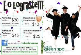 graduation packages fathers day spa packages picture of green spa aguadilla