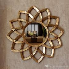 Decorative Mirrors For Bathrooms Dia78cm European Style Wall Decorative Mirrors Woven Sun Mirrors