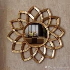 Decorative Mirrors For Bathrooms Dia78cm European Style Wall Decorative Mirrors Woven Sun Mirrors