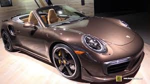 porsche 911 2017 2017 porsche 911 turbo s convertible exterior and interior