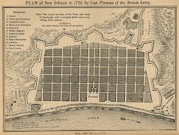 New Orleans City Map by File New Orleans 1770 Pittman Map Jpg Wikimedia Commons